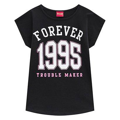 Blusa Infantil Amora Forever 1995 Feminina
