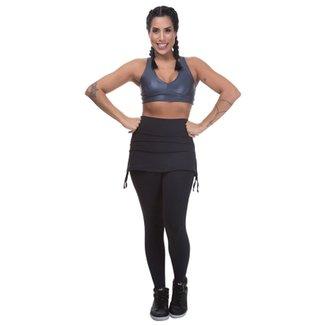 24b82ef76 Compre Saia para Ginastica Cobre Legging Tapa Bumbum Online