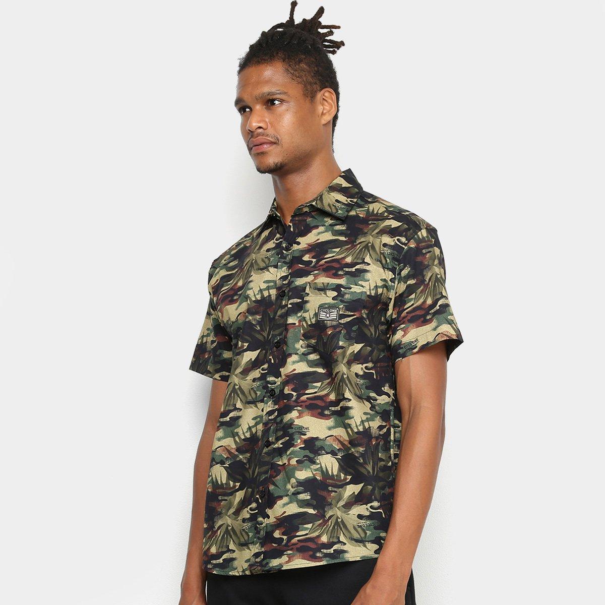 Camisa Cyclone Camuflage Elite Masculina