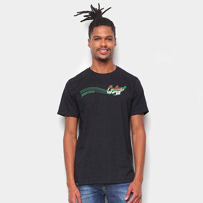 Camiseta Cyclone Loc Assinatura Rasta Metal Masculina