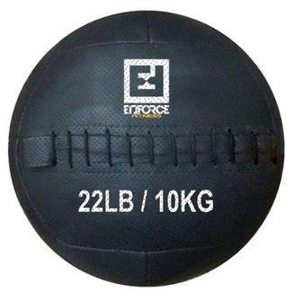 Wall Ball Medicine Ball Bola De Couro 10Kg P  Crossfit 8f9d8946d10ed