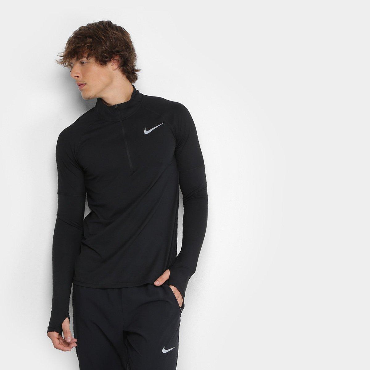 8a33c7039 Camiseta Nike Element Hz 2.0 Manga Longa Masculina