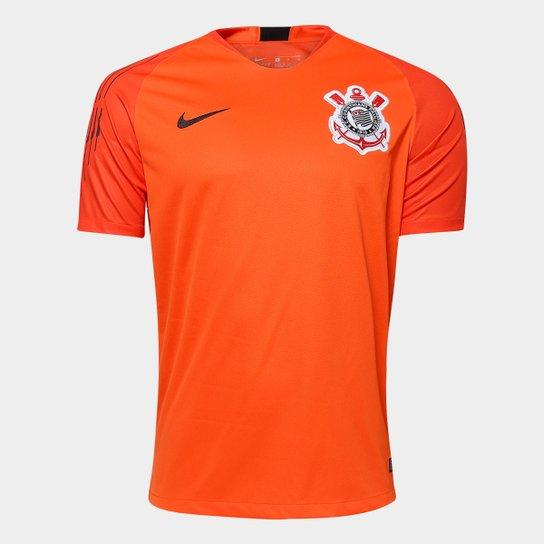 045de3c9f3 Camisa de Goleiro Corinthians 2018 s n° - Torcedor Nike Masculina - Laranja+