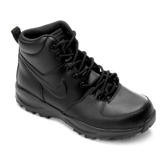 1d7f2cac6b2 Tênis Cano Alto Nike Manoa Leather Masculino - Preto - Compre Agora ...