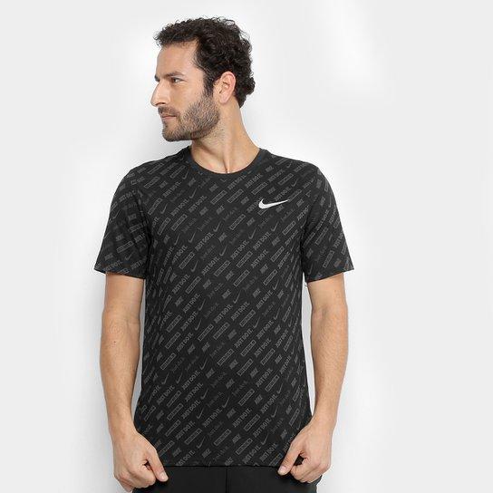 4fbe790133 Camiseta Nike Dri-Fit Masculina - Preto - Compre Agora