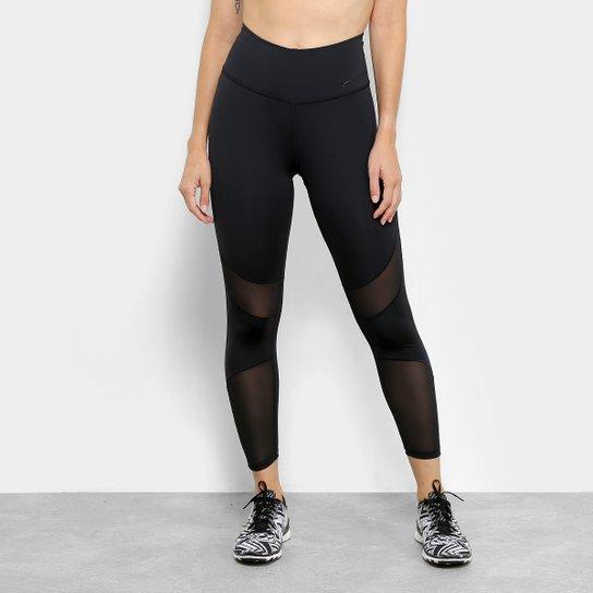 c738e75e33 Calça Legging Nike Fly Hyper Crop Feminina - Preto - Compre Agora ...