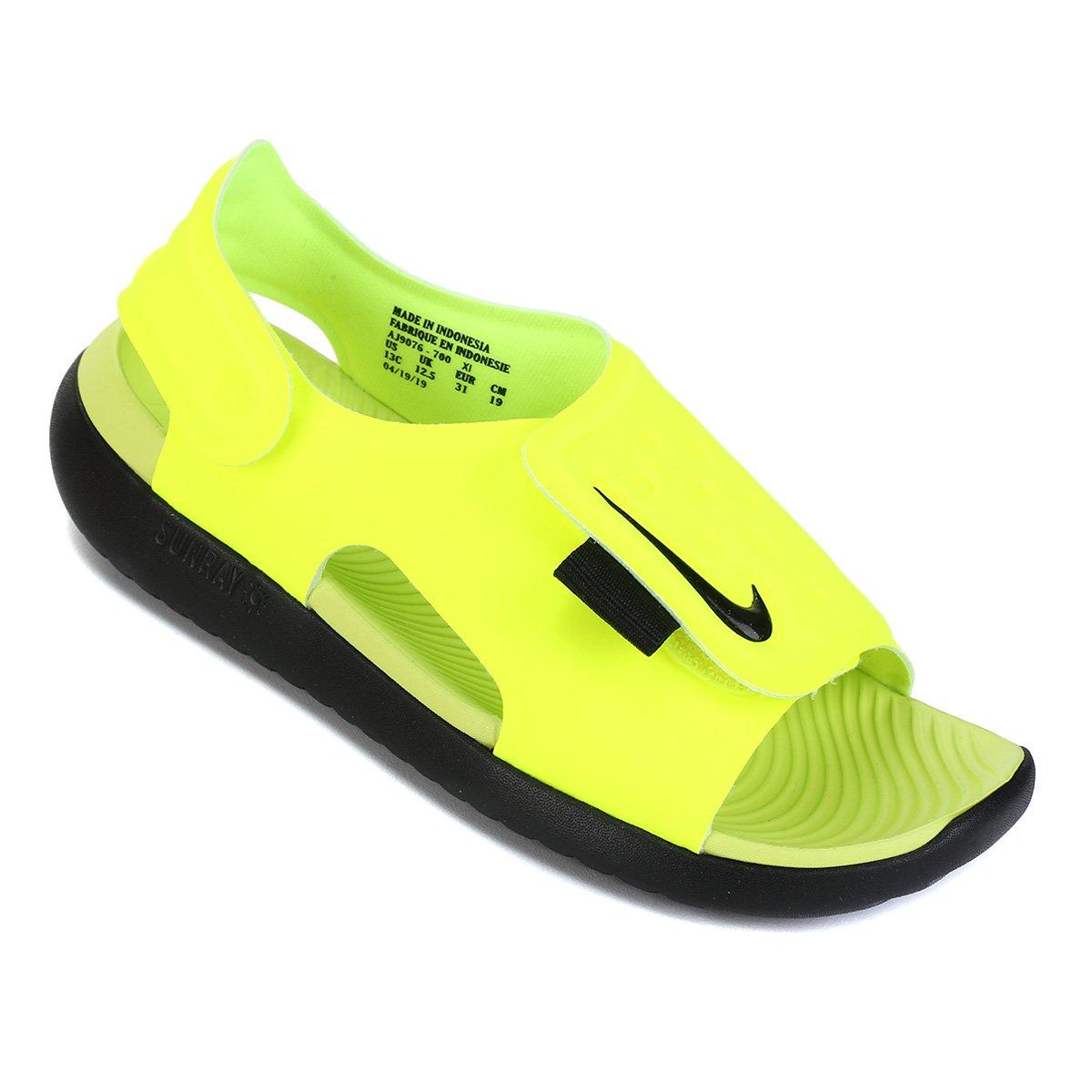 Sandália Infantil Nike Sunray Adjust 5 - Tam: 31
