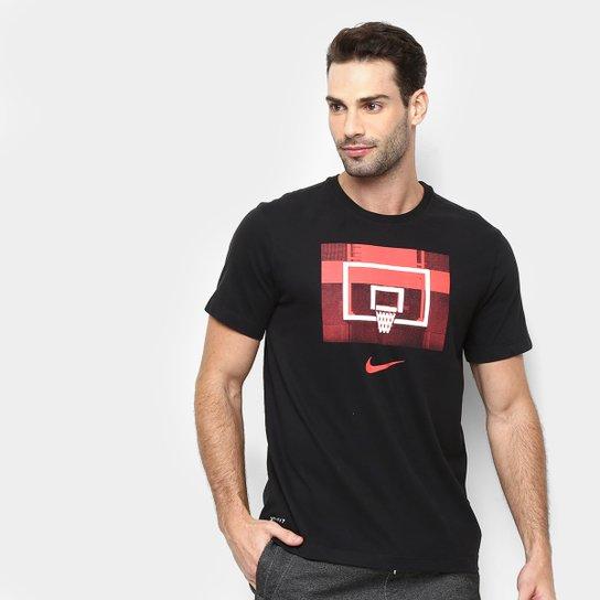 cdf5a65951 Camiseta Nike Dri-Fit Backboard Masculina - Preto | Netshoes