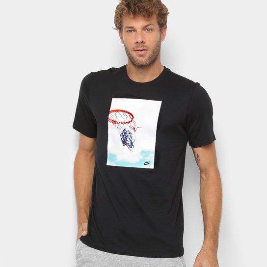 026face86f Camiseta Nike Estampa Basquete Swish Photo Masculina | Netshoes