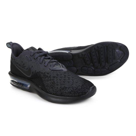 01bcce98f0f Tênis Nike Air Max Sequent 4 Feminino - Preto - Compre Agora