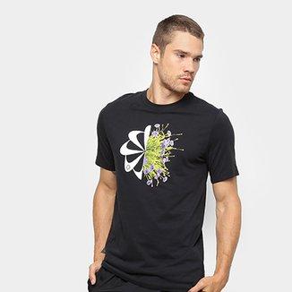 073daf86e18b5 Camiseta Nike Dri-Fit Wild Run Flowers Masculina