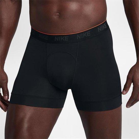886f4dd5029580 Cueca Nike Brief Boxer Masculina (2 unidades) - Preto