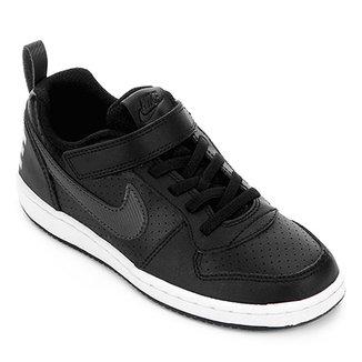 4c831d4490 Tênis Infantil Couro Nike Court Borough Low EP