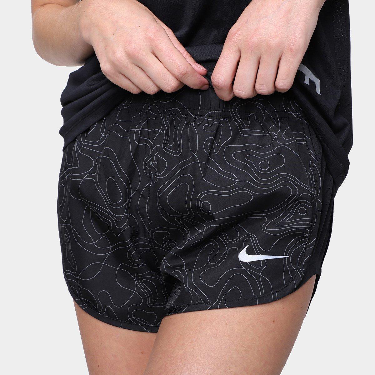Short Nike Run Dvn Tempo Aop Feminino