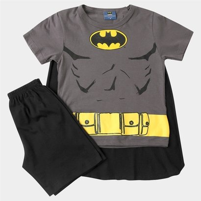 Pijama Batman Curto + Capa