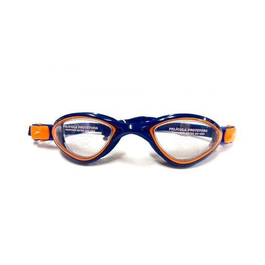 5451ab15e829a Óculos De Natação Speedo Avatar - Laranja e Preto - Compre Agora ...
