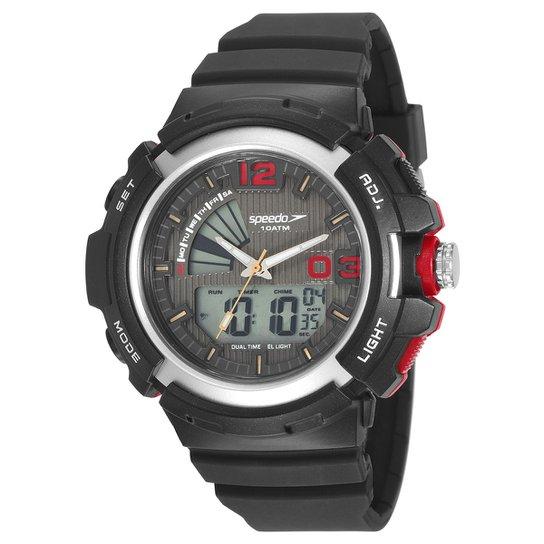3bdf3ee263c Relógio Digital Speedo 11007G0EVNP1 Masculino - Preto - Compre Agora ...