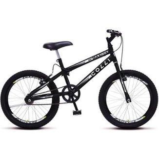 a65c1d3dd011e Bicicleta Colli Max Boy Aro 20 Freios V-Brake 36 Raias - 106