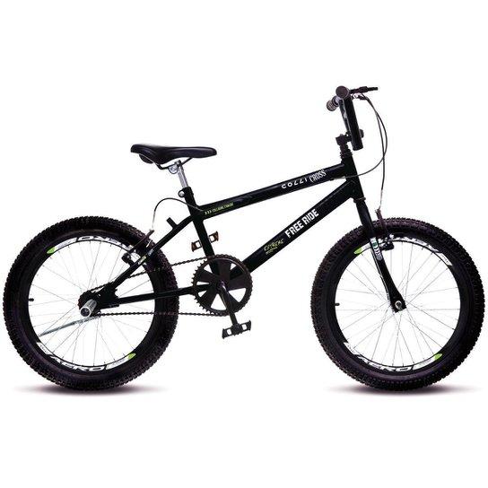 450ab0bb1fd2e Bicicleta Colli Bmx Cross Extreme Aro 20 Aero 36 Raios - Preto ...