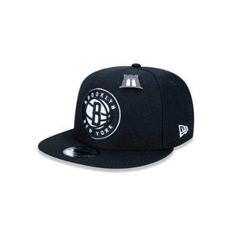 Boné 950 Brooklyn Nets NBA Aba Reta New Era d7f548cc0f4