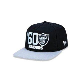 298cfe54d58ea Boné 950 Original Fit Oakland Raiders NFL Aba Reta Snapback New Era