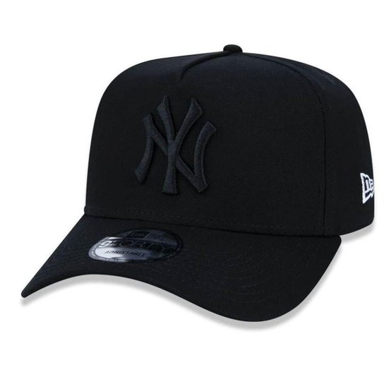 803f52364173a Boné New York Yankees 940 Veranito Logo Preto - New Era - Preto ...