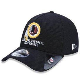 Boné New Era 940 Hc Sn Basic Washington Redskins - Vinho e Amarelo ... da7cedd36f6
