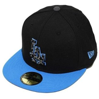Boné New Era Aba Reta Fechado Mlb Los Angeles Snapshot
