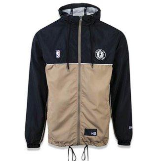 e40ea9573 Jaqueta Windbreaker Brooklyn Nets Sport School New Era