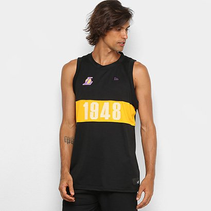 Regata NBA New Era Los Angeles Lakers Fresh FrontCut Masculina