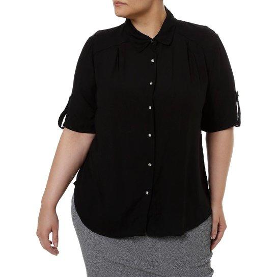 1f47370e8 Camisa Manga Curta Millenium Plus Size Feminina | Netshoes
