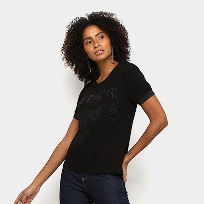 Camiseta Acostamento Fashion Feminina