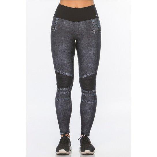 96195e7f1 Calça Legging Jeans Alto Giro - Compre Agora