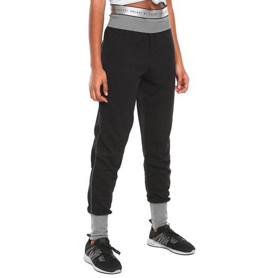 d18c66a2c Calça Colcci Fitness Moletom - Preto - Compre Agora   Netshoes