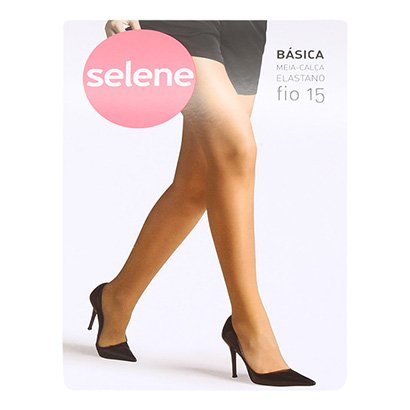 Meia Calça Selene Básica Fio 15 Feminina