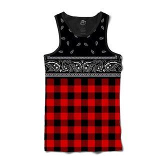 Camiseta Regata Criativa Urbana Fitness Red Cyclone. Ver similares. Confira  · Camiseta BSC Regata Red Chess Bandana Full Print acef1695c24f6