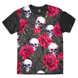 aac13dc1e Camiseta BSC Caveira iras da Morte Sublimada Masculina