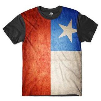 Camiseta BSC Bandeira Chile Sublimada d63d5df7b76