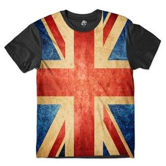 Camiseta BSC Bandeira Grã-Bretanha Sublimada fe516768d59