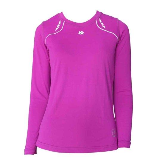 0926e93d70 Camisa Kanxa Baby Look Crisp Protection - Compre Agora Netshoes  d06996bcdf10f8  Camisa Anti Uv ...