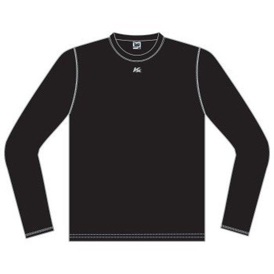 Camisa Kanxa Manga Longa Alta Compressão - Preto - Compre Agora ... 7b55820ce5d7f