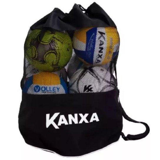 ae4d12df46292 Porta Bola, Bolsa para Transporte De Bolas Kanxa - Preto | Netshoes