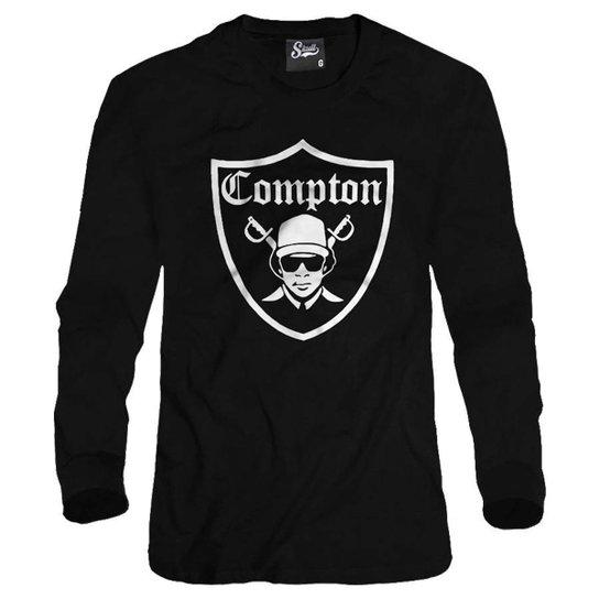 c938adcad1f2d Casaco Moletom Skull Clothing Compton Masculino - Preto - Compre ...