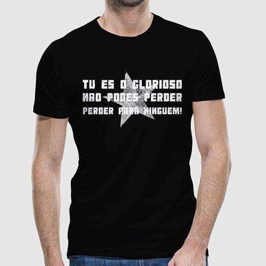 Camiseta Botafogo Tu És O Glorioso Masculina - Preto - Compre Agora ... 75baa8ce208a6