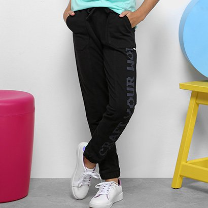 Calça Legging Infantil Dimy Candy Estampada Craft Feminina