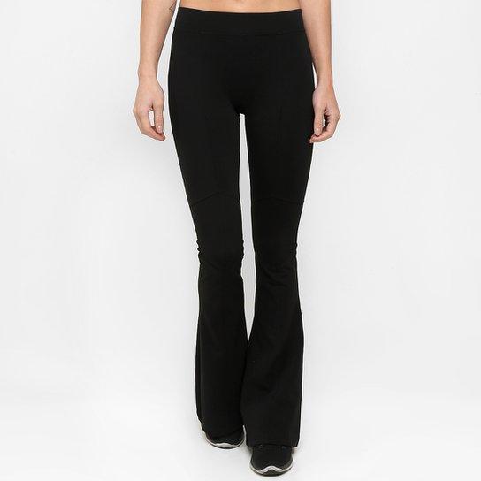 9b41e6542 Calça Legging Líquido Flare Recorte Feminina | Netshoes