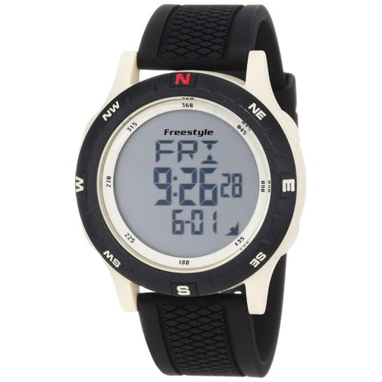 c9b8622fcfe Relógio Freestyle Shark - 101158 - Preto - Compre Agora