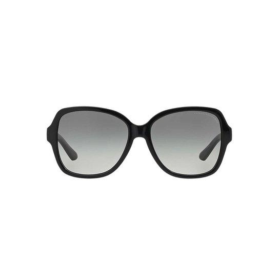 debf89018 Óculos de Sol Armani Exchange Borboleta AX4029S Feminino - Preto ...