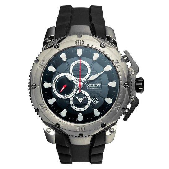7758ae6f56b Relógio Orient Masculino Chronograph - MBTPC005 - Preto - Compre ...