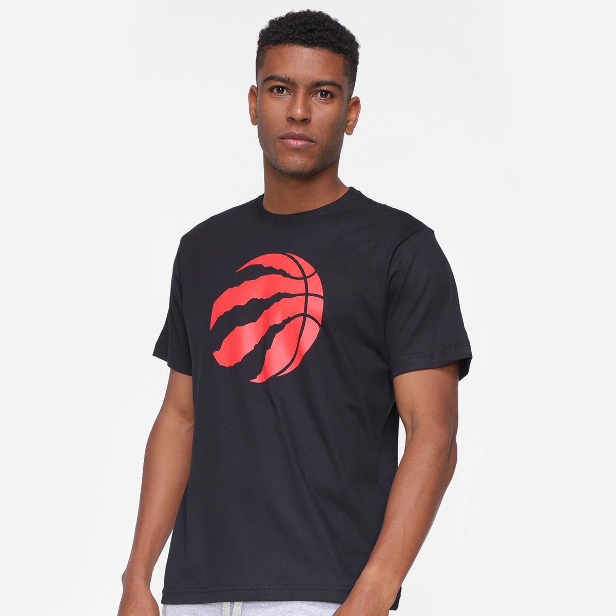Camiseta NBA Toronto Raptors Logo Masculina